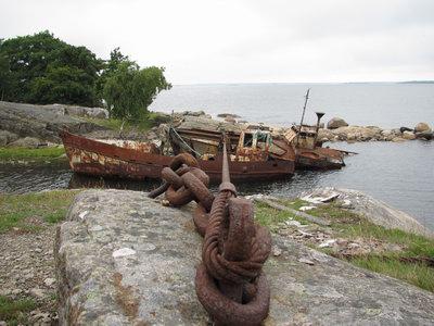 Båtkyrkogården på Tjurkö (Karlskrona)