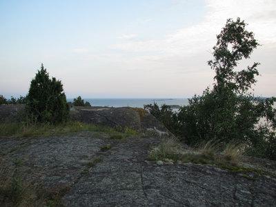 Två stora kanonvärn på Eriksbergslandet (Karlshamn)