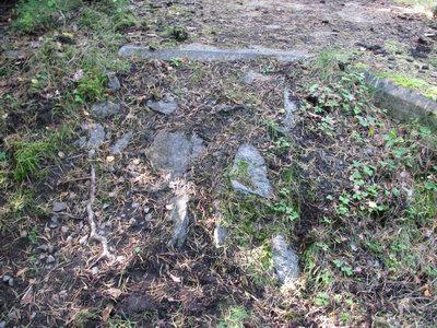 Resterna av en mycket hemlig anläggning i Långehall (Karlshamn)