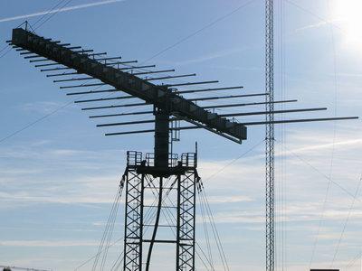 Radioantennerna i Hörby juni 2010